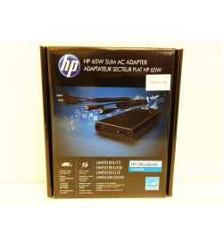 ADAPTEUR HP 65W SLIM W/USB AC